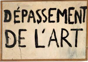 Guy Debord, Dépassement de l'Art